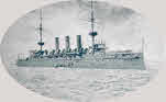 Side view of HMS Highflyer