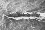 HMS Meteor from above