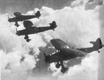 Formation of three Henschel Hs 126s
