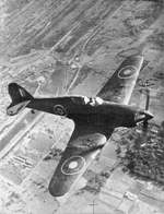 Hawker Hurricane over Bengal