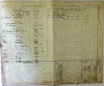 Service Record of Ian Walters, 322 Squadron (Back)