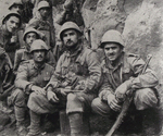 Italian Infantry on Allied Side, Cassino Front