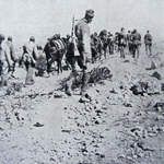 Italian Troops head to the Front