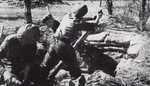 3in Mortar of Jewish Infantry Brigade Group, Italy, Spring 1945