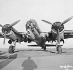 Front view of Junkers Ju 88A-1