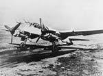 Front view of Junkers Ju 88G-6