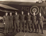 Crew of Lancaster MG-N, No.7 Squadron, April 1945