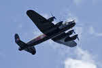 Lancaster X FM213 in Flight