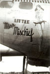 B-17G 'Little Miss Mischief', 91st Bombardment Group.