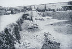German strongpoint in a quarry near Hulluch, 1915 (1 of 2)