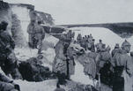 German strongpoint in a quarry near Hulluch, 1915 (2 of 2)