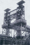 'Tower Bridge' pit head, Loos