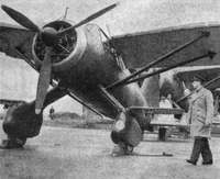 King George VI inspects a Lysander II