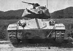 Front View of M24 Chaffee