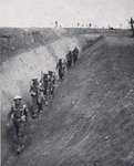 British Troops in Anti-Tank Ditch on Mareth Line