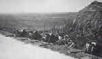 Royal Marines defending road outside Ostend