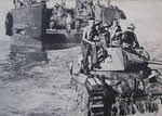 Matilda Tank lands at Toko Beach, Bougainville
