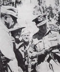 Mountbatten visiting 36th Division, Burma