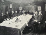 Officer's Mess, German Navy, c.1914