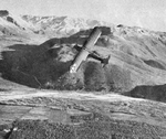 Piper L-4 Grasshopper over the mountains