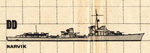 US Plan of 1936A Type Destroyer (Germany)