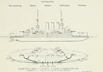 Plans of Braunschweig Pre-Dreadnought Battleships