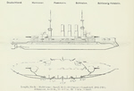 Plans of Deutschland Pre-Dreadnought Battleships