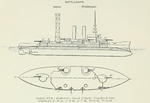 Plans of Mississippi Class Pre-Dreadnought Battleships