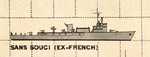 US Plan of Sans Souci class seaplane tender (France)