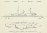 Plans of Wittelsbach Pre-Dreadnought Battleships