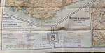 Key to RAF Silk Escape Map, Sheet D