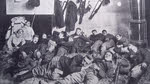 Belgian Soldiers resting after Siege of Liege, 1914