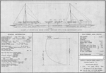 Preliminary Design 107 for Sampson Class Destroyers, 21 January 1914
