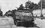 Sd.Kfz. 251 Half Track from the Front