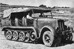 Sd.Kfz. 7 Half Track from the Right