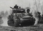 Sherman Mk.IB (105mm) at Conselice, April 1945