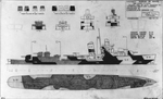 Measure 31, Camouflage Design 11D for Sims Class Destroyers, Starboard Side