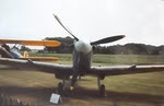 Front view of Spitfire Mk VC AR501