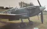 Side view of Spitfire Mk VC AR501