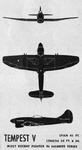 Plans of Hawker Tempest V